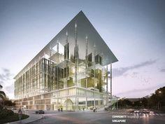 Community Hospital @ Yishun  Gensler, HDR Architecture  Singapore, Singapore