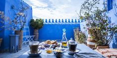Enjoy this one day trip from Fes to Chefchaouen with Morocco tours guide and get to know the city of Chefchaouen in this most popular day trip from Fes Chefchaouen, Belle Villa, Day Trip, Lodges, Facade, Entrance, Restoration, Tours, Patio
