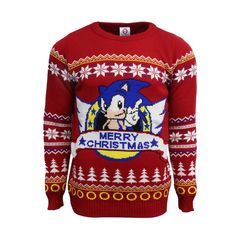 Official Classic Sonic The Hedgehog Sega Ugly Christmas Sweater #christmas #sweater #sega #nintendo #StreetFighter #UglyChristmasSweater #uglysweater #ugly #Fallout4 #game #videogame #gamer #Top10 #list #gaming #gamelife #party #sonic #SonicTheHedgehog