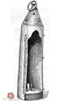 Laternenfunde aus Smithfield Copper alloy lantern from a drawing by Smithfield