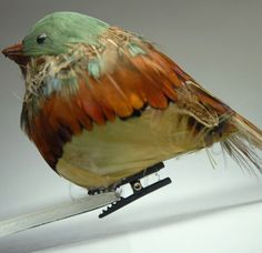 """Artificial Birds 5.5"""" Robin with clip $ 2.99 each. I love just about everything on this site."""