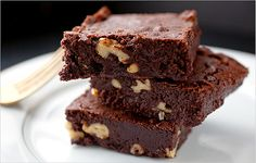 NYT Cooking: Chewy Fudge Brownies