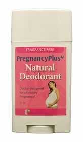 http://www.fairhavenhealth.com/pregnancy-deodorant.html A natural, doctor-designed pregnancy deodorant safe for Mom and Baby. $9.95