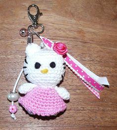 Hello Kitty sleutelhanger.