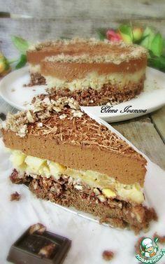 """Грушево-шоколадный торт """"Крустильян"""" - кулинарный рецепт"""