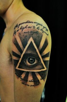 All Seeing Eye tattoo by Thick McRunfast.
