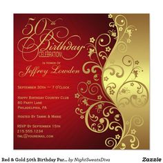 Birthday Party Invite Template - Birthday Party Invite Template , 50 Free Birthday Invitation Templates – You Will Love 75th Birthday Parties, Gold Birthday Party, 90th Birthday, Birthday Celebration, Surprise Birthday, 50th Party, Birthday Ideas, Fiftieth Birthday, Fifty Birthday