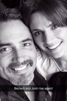 Stana and Victor Webster