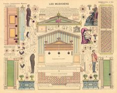 """50 Watts (*), Agence Eureka and Geheugen van Nederland made a great work collecting images and samples of 19th Century paper theaters. Scenes from gothic gardens, prisons, battlefields, folk homes. Jean Charles Pellerin's company created the """"Grand Théâtre Nouveau,"""" in 1896, using a lithographic..."""
