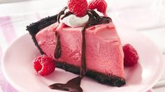 Frozen Chocolate-Raspberry Pie Recipe