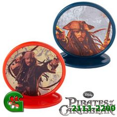Wilton item number 2113-2200. Visit www.GalesWholesale.com for more information. Pirates of the Caribbean Party Toppers 1.5in (3.8c. Plastic toppers are great on cupcakes, brownies, cakes and more. 1.5 in. high.