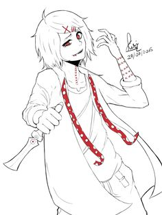 Fan art Juuzou suzuya by Kiritzugu.deviantart.com on @DeviantArt