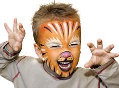 ¿Qué tal este tigre? #maquillaje #carnaval