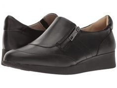 Naturalizer Jena (Black Leather) Women's  Shoes