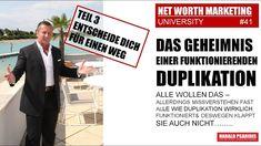 NWM & DIRECT SELLING NEWS #41 - DAS GEHEIMNIS der DUPLIKATION  Teil 3 - ... Direct Selling, Direct Sales, Marketing, Tv, Memes, Tvs, Meme, Television Set
