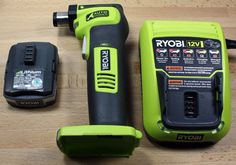"""Wire Ryobi Auto Hammer is designed to drive nails up to / 2 """"long, operating in tight spaces, and completely eliminates the hammer mark. In fact, Ryobi claims that the new Auto Hammer they, the hammer has never been easier. with a statement like this Ryobi Cordless Tools, Ryobi Tools, Dewalt Power Tools, Ryobi Battery, Id Design, Hand Tools, Wire, Calligraphy, Spaces"""