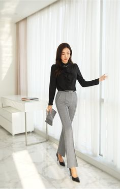 N - corporate attire women Office Fashion, Business Fashion, Work Fashion, Fashion Outfits, Women's Fashion, Corporate Fashion Office Chic, Workwear Fashion, College Fashion, College Outfits