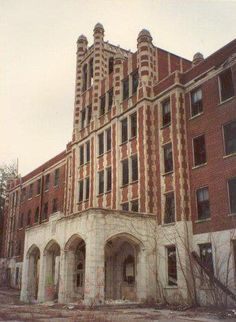 Waverly Hills Sanatorium this place was on ghost hunters it's terrifying looking