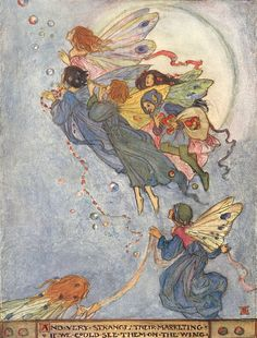 Flying Fairies  By Florence Harrison