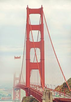 Golden Gate Bridge, San Francisco, California <3