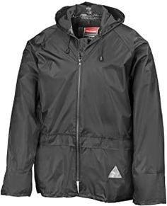 REGEN-ANZUG (Regenset bestehend aus Jacke und Hose) absolut wasserdicht Farbe schwarz lieferbar von Gr. S - XXL - 16.99 - 4.2 von 5 Sternen - Regenjacke Herbst 2019