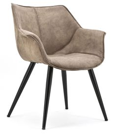 Samuel stoel bruin - Eleonora | Robin Design