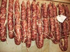 Italian Cooking, Italian Recipes, Salami Recipes, Mama Cooking, Cold Cuts, Carne, American Food, Sausage, The Cure
