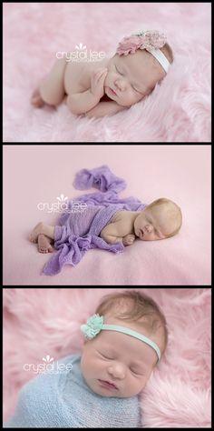 Newborn girls. http://crystalleephotography.com