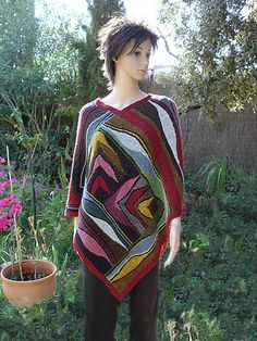 This pattern is for all those who like the shapes of Swing Knitting but are not prepared to go through the workshops yet.