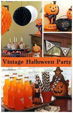 Vintage Halloween Party Ideas
