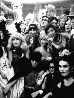 0:00 of fancy dress party, at Harajuku,1967.