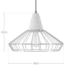Lámpara de techo tipo Jaula Scandi | Lámparas colgantes | Cult Living