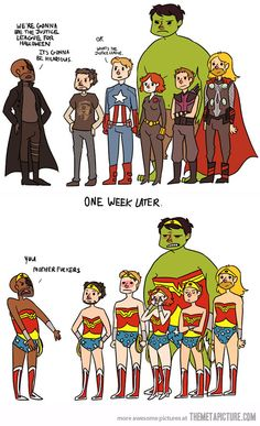 Justice league for halloween marvel funny, marvel memes, marvel dc comics, marvel avengers Marvel Dc Comics, Marvel Avengers, Avengers Poster, Ms Marvel, Captain Marvel, Avengers Humor, Marvel Jokes, Marvel Funny, Avengers Characters