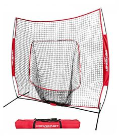 The Bownet Big Mouth is the top selling hitting net in the country! The Big Mouth works great for soft-toss, batting tee practice, and pitching practice. Baseball Pitching, Baseball Training, Pro Baseball, Baseball Dugout, Baseball Bats, Batting Nets, Shipping Box Sizes, Free Shipping, Big Muscle Training
