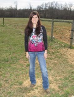 Cowgirl Fashion: Miss Me Horseshoe Wing Cross Jeans