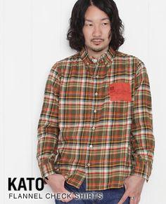KATO' [ カトー ]チェックフランネル ボタンダウンシャツ BS230133W-708 92223079【楽天市場】