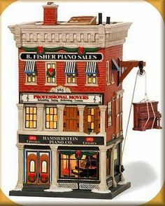 Hammerstein Piano Co. NEW Department Dept. 56 Christmas In The City Village CIC