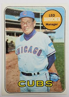 Baseball Park, Chicago Cubs Baseball, Football, Leo Durocher, Go Cubs Go, Fun Group, Cubs Fan, Sport Icon, Yesterday And Today