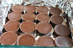 Six Sisters Stuff: No Bake Reeses Fudge Bars