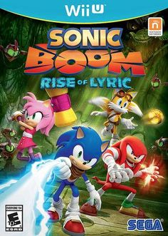 MORE NEWS GUYS :D: Sonic Boom Rise of Lyric Nintendo Wii U box art! Game is due to release November 18th Source: https://www.facebook.com/Sonic?fref=photo