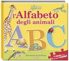 Amazon.it: L'alfabeto degli animali. Libro puzzle 11 €
