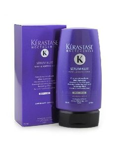 Noctogenist Serum Nuit Overnight Softening Leave-In Treatment ( For Dull, Tired-Looking Hair ) - Kerastase - Noctogenist - 150ml/5.1oz *** For more information, visit image link.