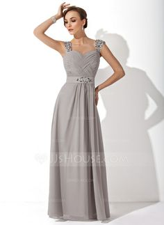 Mother of the Bride Dresses - $138.99 - A-Line/Princess Sweetheart Floor-Length Chiffon Mother of the Bride Dress With Ruffle Beading (008006313) http://jjshouse.com/A-Line-Princess-Sweetheart-Floor-Length-Chiffon-Mother-Of-The-Bride-Dress-With-Ruffle-Beading-008006313-g6313