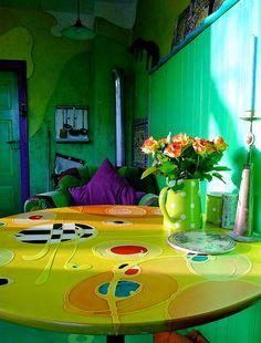 Nachmittagssonne in der Künstlerküche by Mareike Scharmer, via Flickr