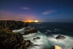 #Tory Island #coastline by night #Donegal