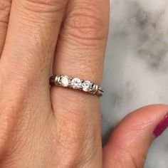 Engagement ring Bought on qvc a while back. Worn for a month. Jewelry Rings