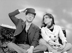 John Steed et Emma Peel