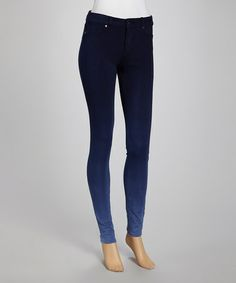 Take a look at this Topaz Ombre Knit Anarchy Skinny Jeans by Denimocracy on #zulily today!