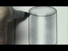 Copic Marker Tutorial, Coloring Cylinders