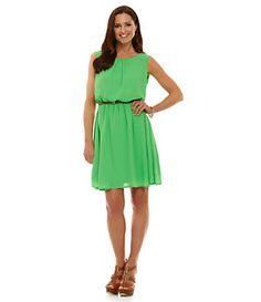 Gibson & Latimer Lattice-Back Dress | Dillard's Mobile